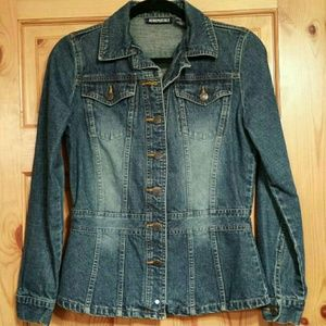 Aeropostale Fitted Jean jacket, small - medium GUC